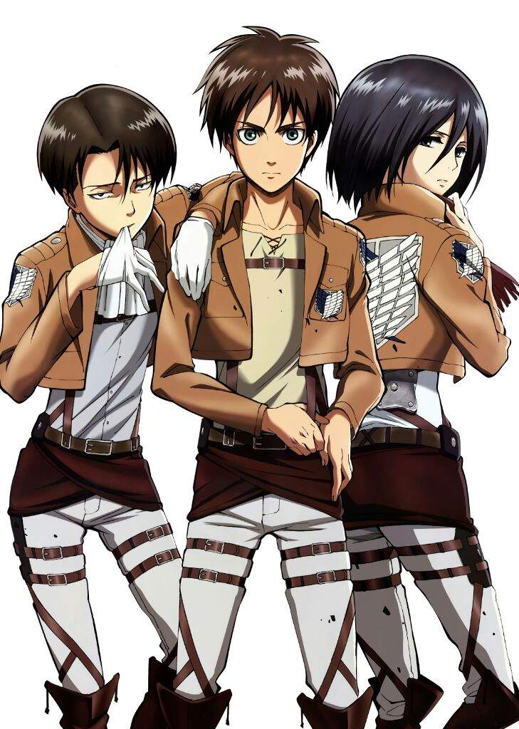 Tags: Scan, Official Art, Shingeki no Kyojin, Mikasa ... |Attack On Titan Levi And Mikasa