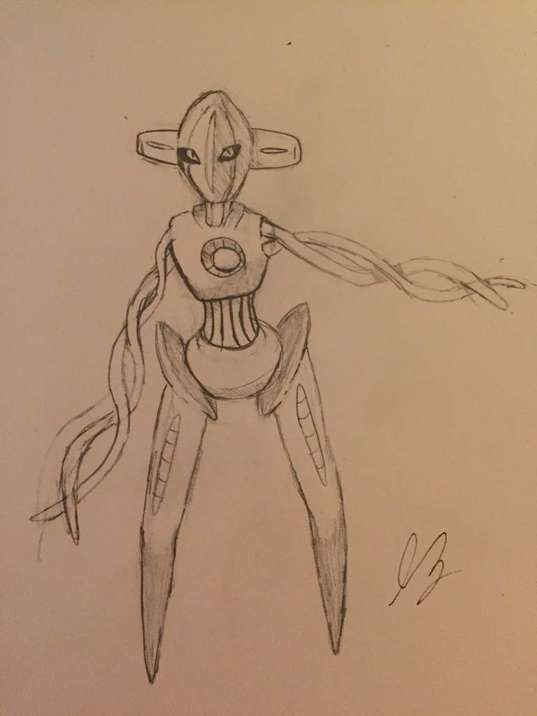 Deoxys pencil drawing pokémon amino