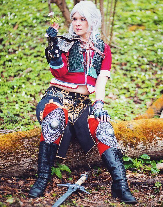 Ciri Zerrikanian Armor DLC Witcher 3 | Cosplay Amino