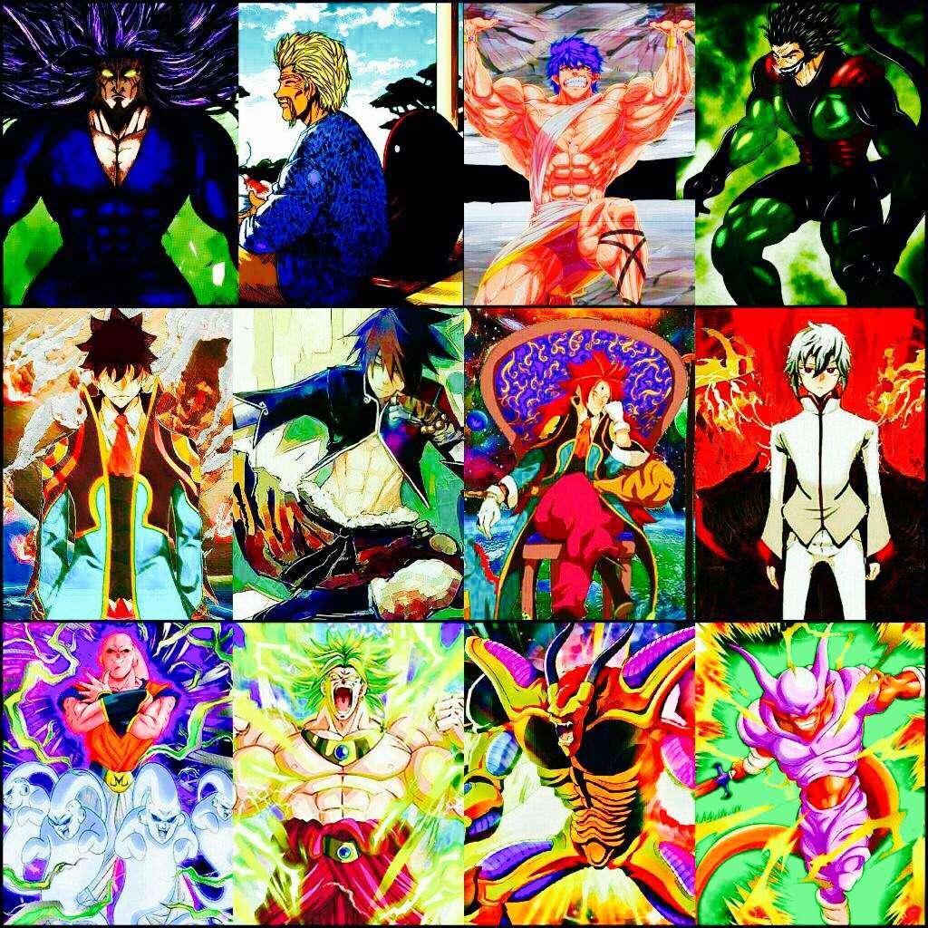 God Of Highschool Vs Toriko Vs Dragon Ball Z