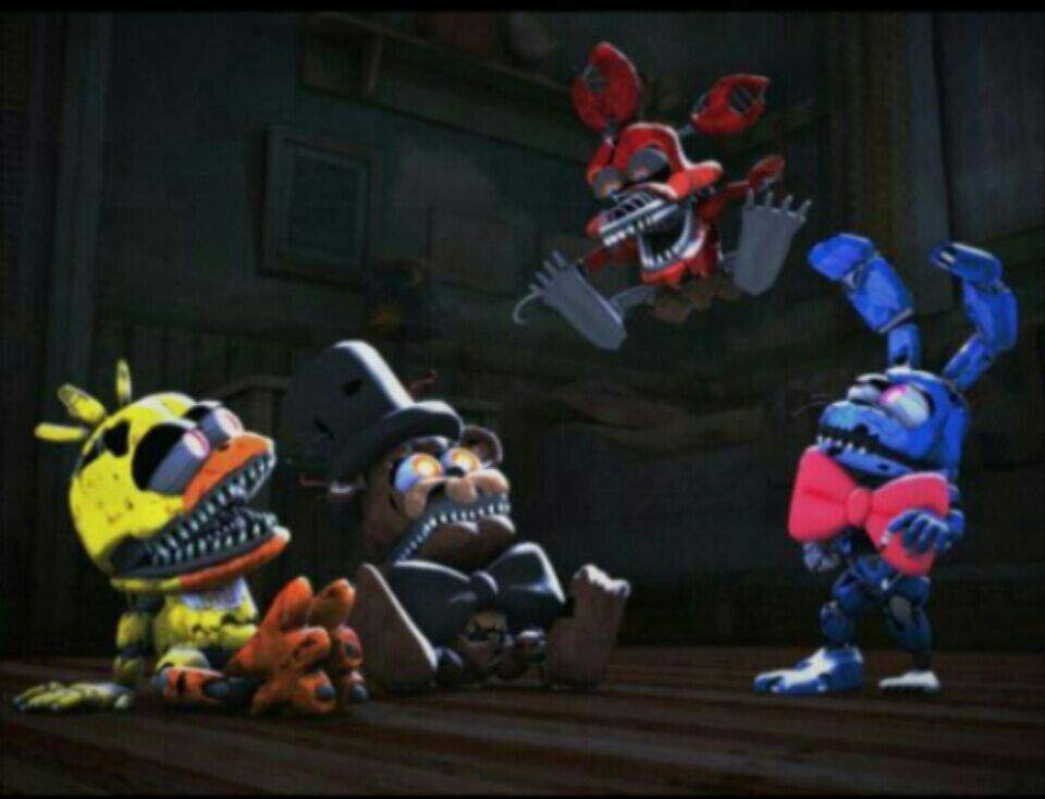 Baby Nightmare animatronics | Five Nights At Freddy's Amino