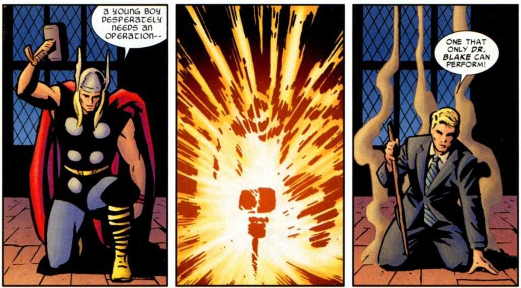 Como Thor virou Dr.Blake | Marvel Comics em Português™ Amino