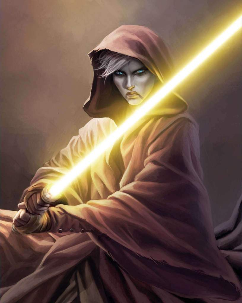 Image result for yellow lightsaber jedi sentinel