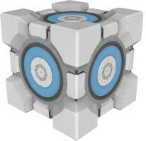 Weighted Storage Cube seen in Portal 2.  sc 1 st  Amino Apps & Aperture Science | Portal Amino