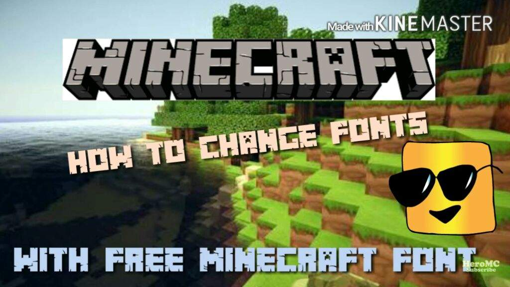 How To Get The Minecraft Font | Minecraft Amino