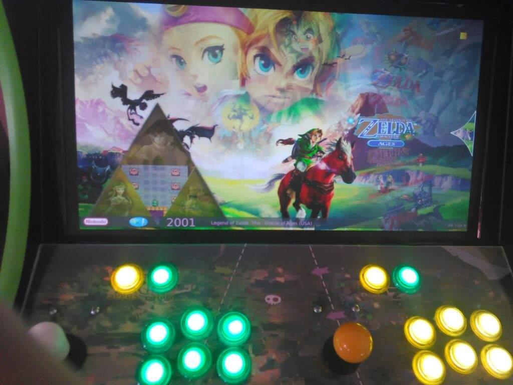 Zelda Arcade Machine | Zelda Amino
