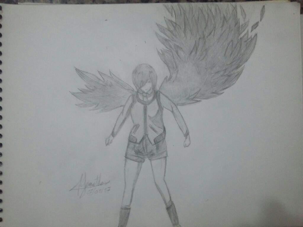 Desenho Da Touka Anime Tokyo Ghoul Otanix Amino