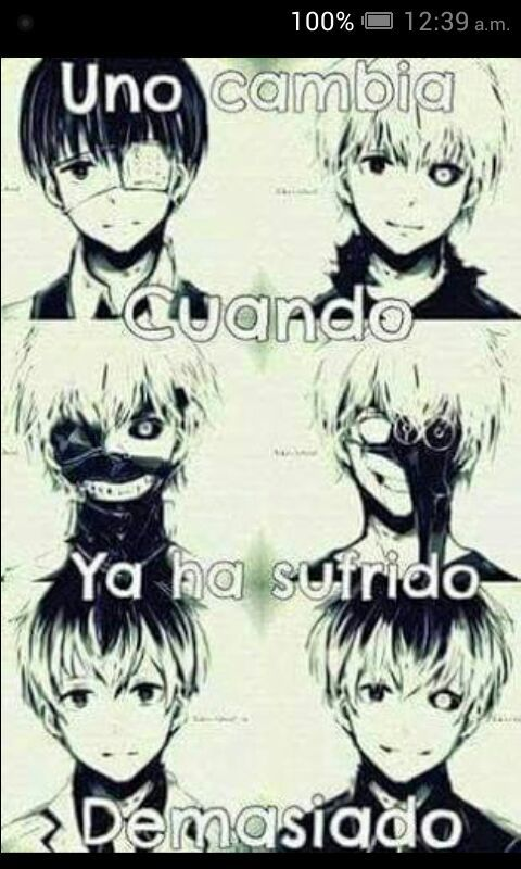Frases Tokyo Ghoul Amino