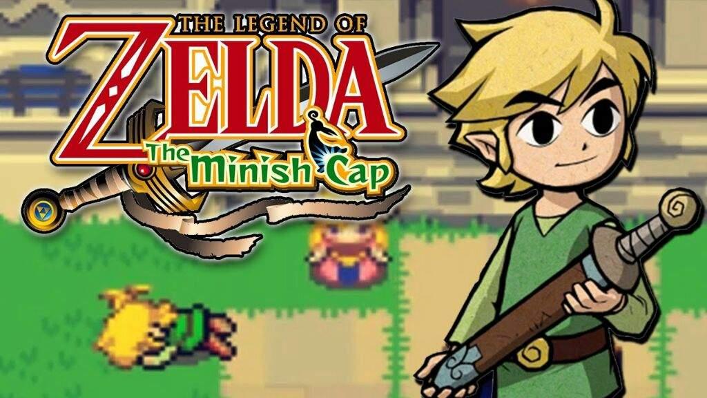 Resena De Juego 7 The Leyend Of Zelda The Minish Cap Juegos