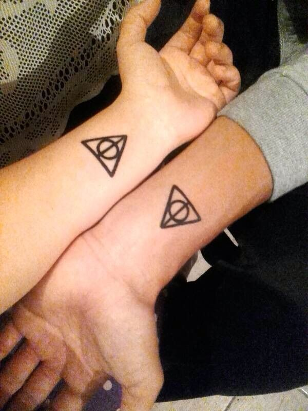 Tattoo Of The Simbol Of The Relics Of Death Harry Potter Amino