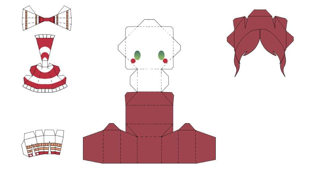 Papercraft Foxy – HD Wallpapers