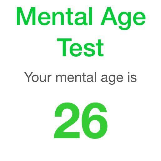 mental age test furry amino