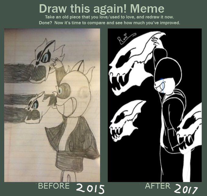 Draw This Again Meme Sans Undertale Amino