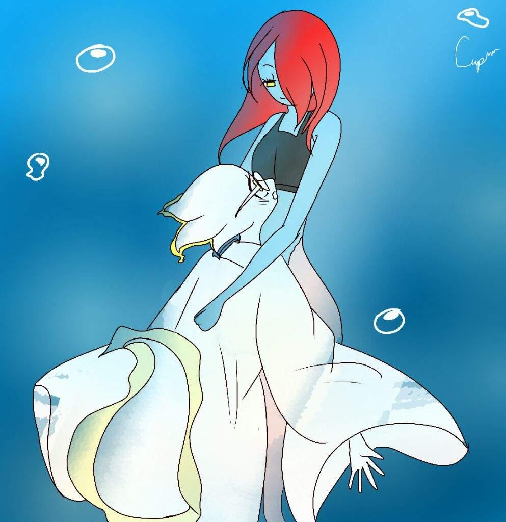 Oceantale Undyne×Alphys | Undertale Amino
