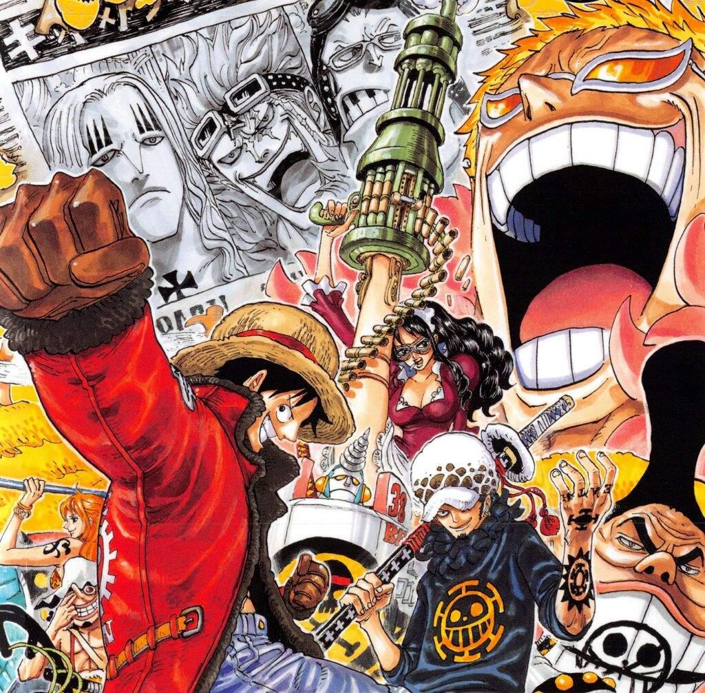 Dressrossa - My Favorite Arc in One Piece!!   Anime Amino
