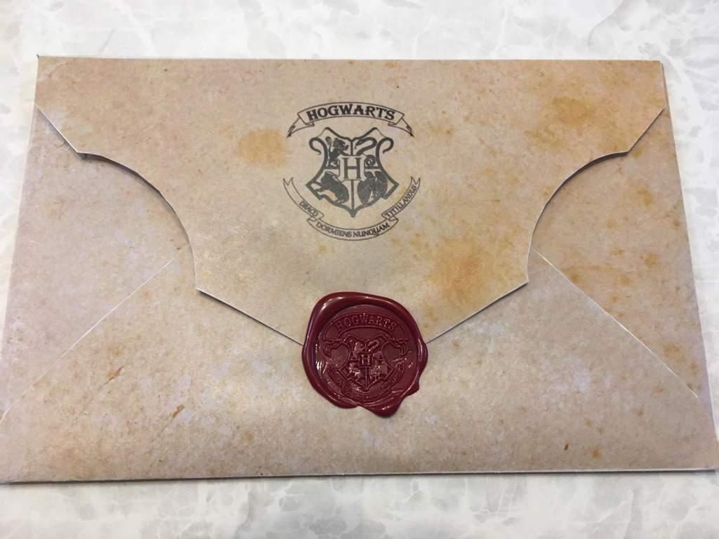 Доброго, открытка в виде письма из хогвартса