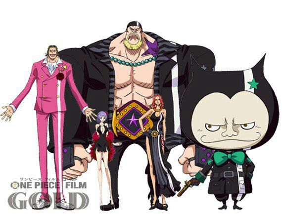 Photo: One Piece Film Gold is out with normal sub and Japanese dub! 720p