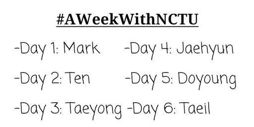 AWeekWithNctU | NCT (엔시티) Amino