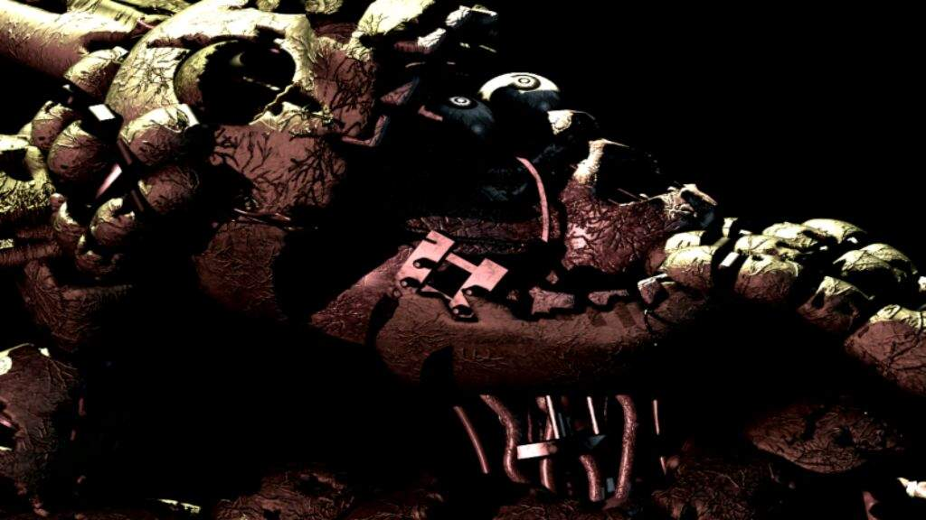 Was playing FNaF 3 on my android phone     | Five Nights At