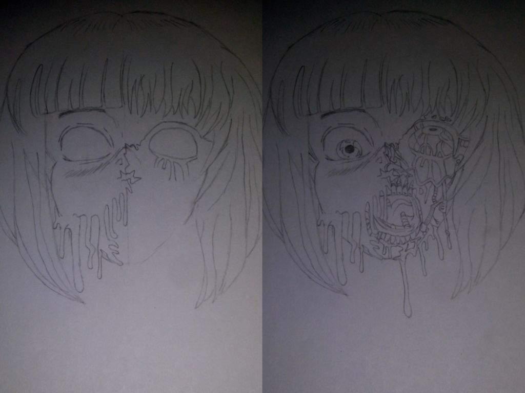 Proceso de dibujo, Gore|• | •Anime• Amino