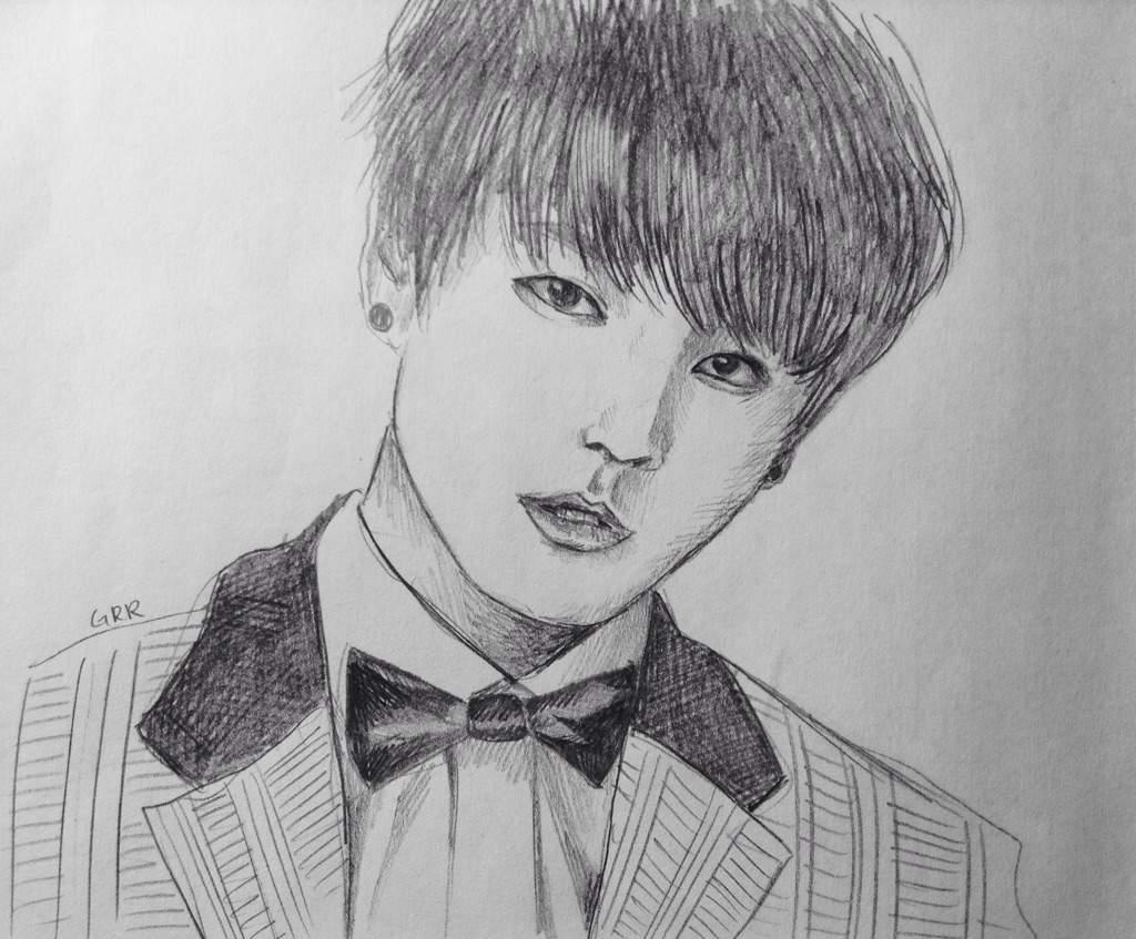 Jungkook Bts Drawings: Who Should I Draw Next? (BTS)