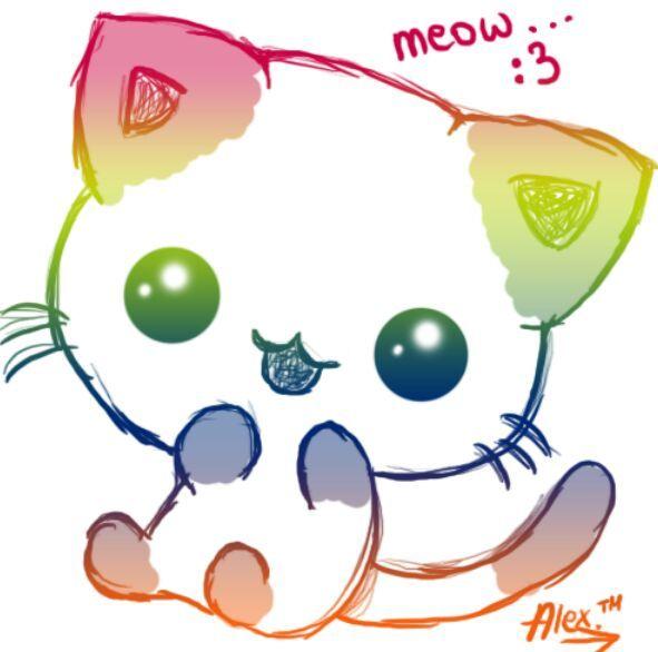 Desenho De Gatos Lindosssss Fofura Total Kawaii Pt Br Amino