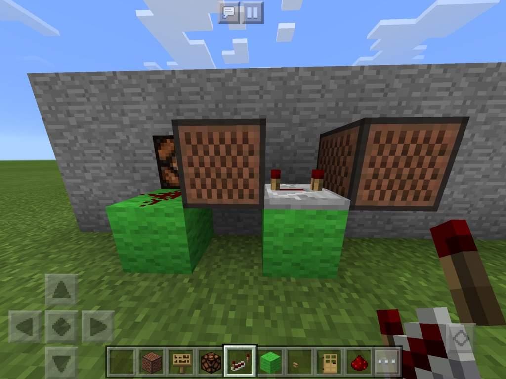 Minecraft Wiki Doorbell Redstone Circuits