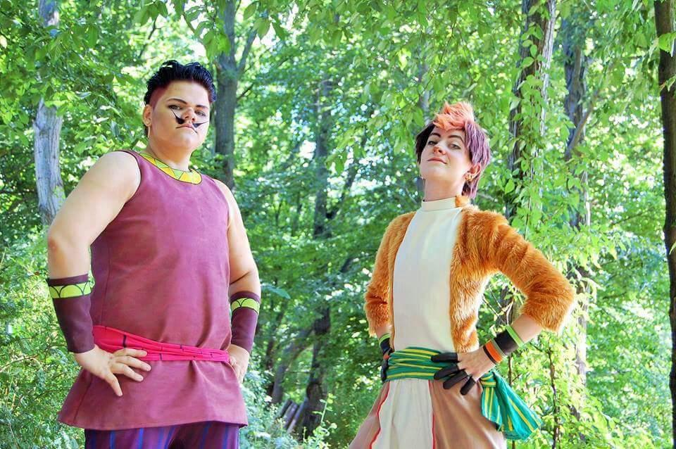 Genki girls cosplay dating