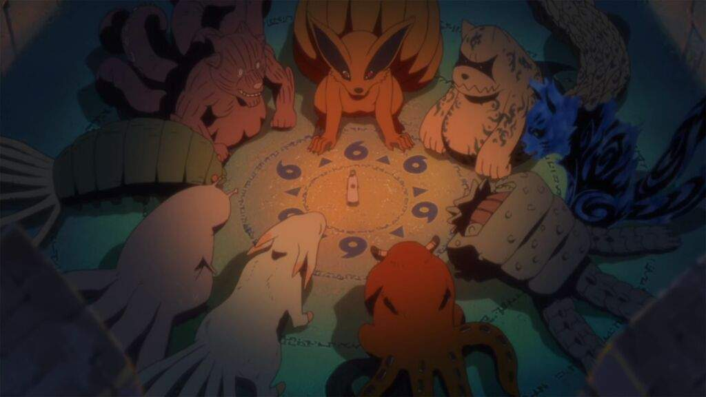 tailed beast jinchuuriki babys lest amino