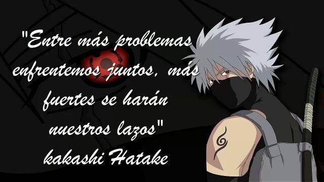 Frases De Kakashi Sensei Anime Amino