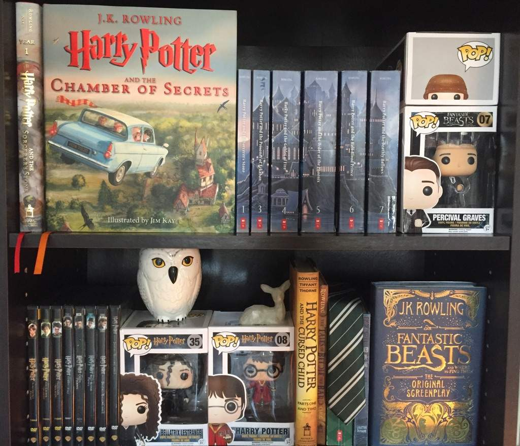 My Harry Potter Bookshelf