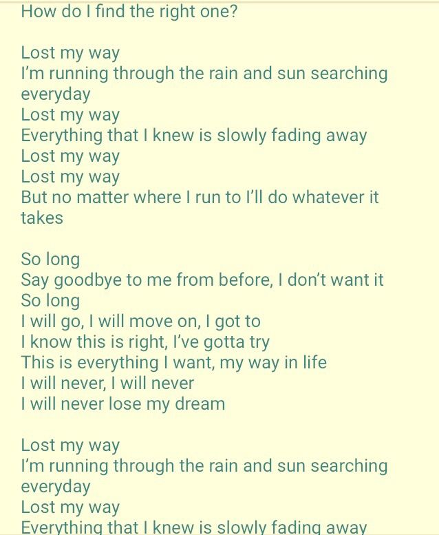 Lyric find my lyrics : BTS~Lost ! | ARMY's Amino