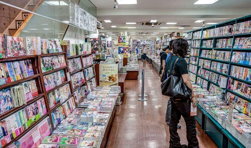 Manga Store In Japanese
