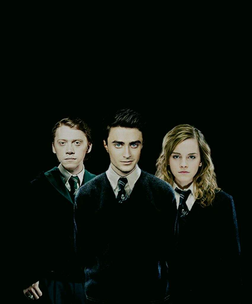 What if Harry, Ron and Hermione were in Slytherin? | Harry Potter Amino