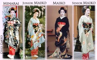 Training of geisha