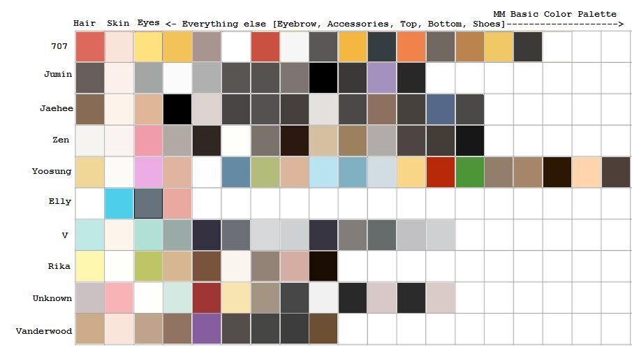 Just A Base Color Palette Free To Use And Modify