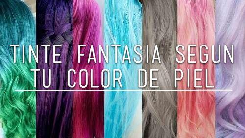 Pelos te ido de color fantacia segun tu piel maquillaje y moda amino - Gama de colores morados ...