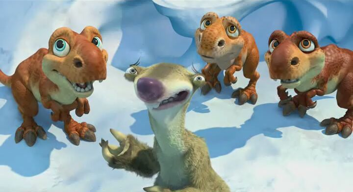 Ice Age 3: Dawn of the Dinosaurs | T. Rex Wiki | FANDOM ... |Ice Age 3 Baby Dinosaurs