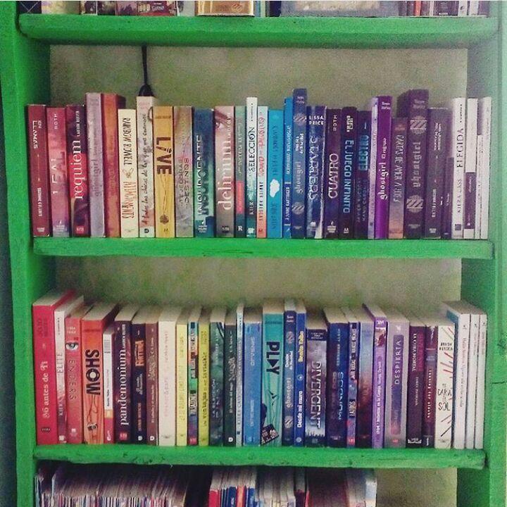 📖LIBROS EN ARCOIRIS📚 (MI INTENTO FRACASO) | • Libros • Amino