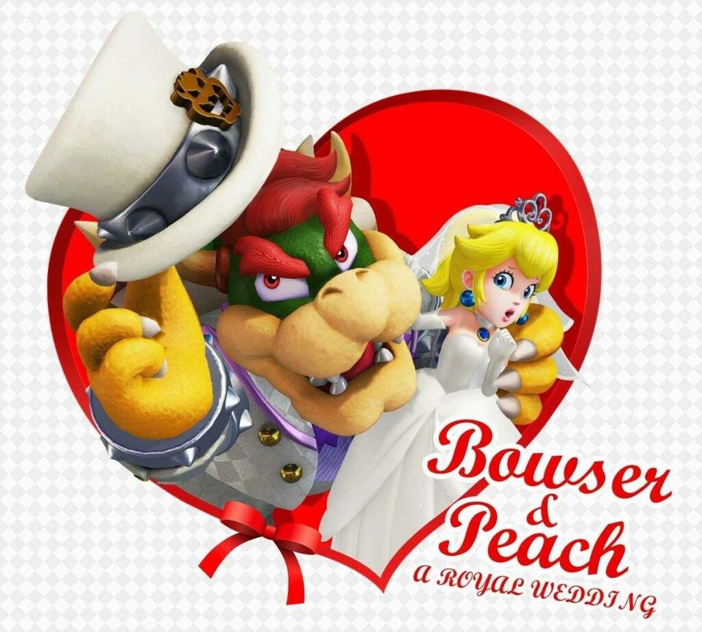 Peach bowser x Bowuigi —