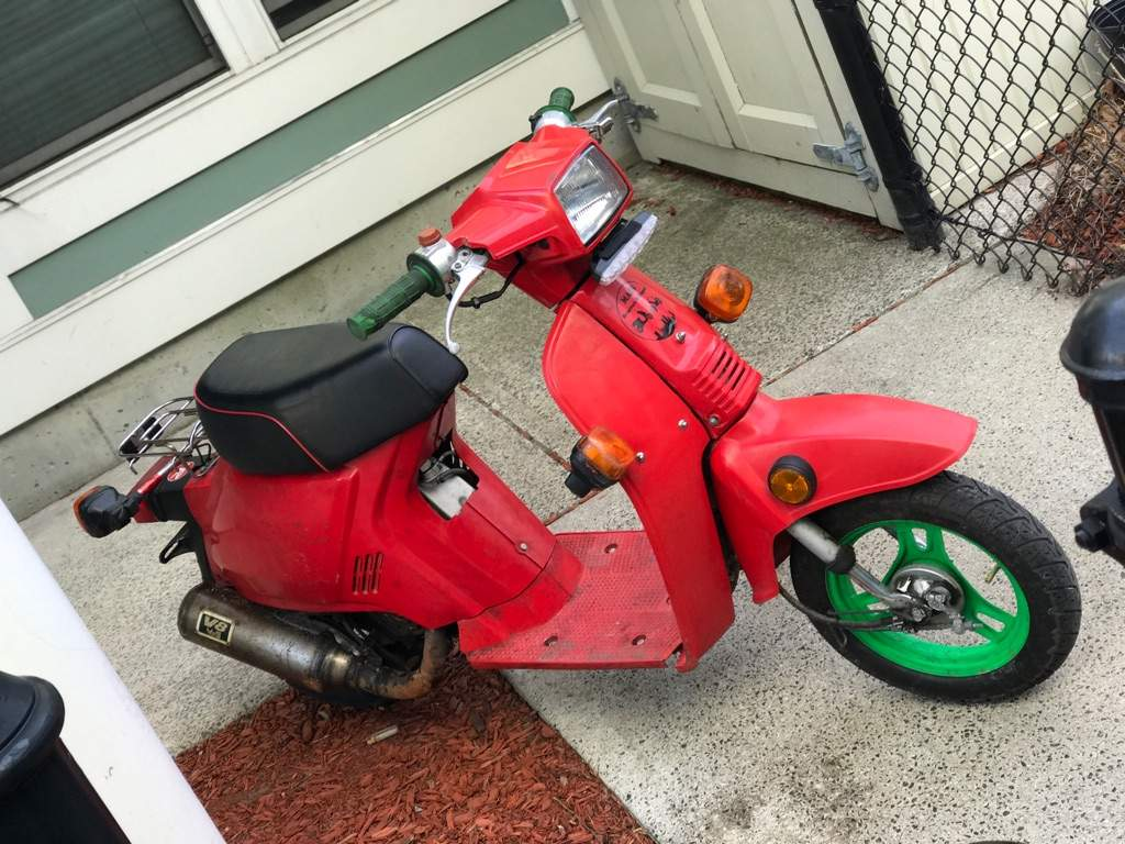 honda mint s red classic restored scooter sold condition spree