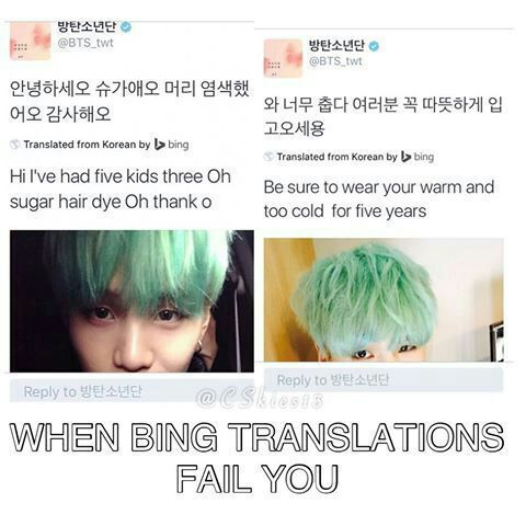 Bing translate failures 😂 | 🇰🇷Bangtan Boys🇰🇷 Amino