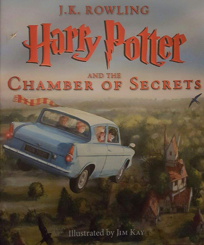 Chamber of Secrets Illistrated Book Part 1 | Harry Potter Amino