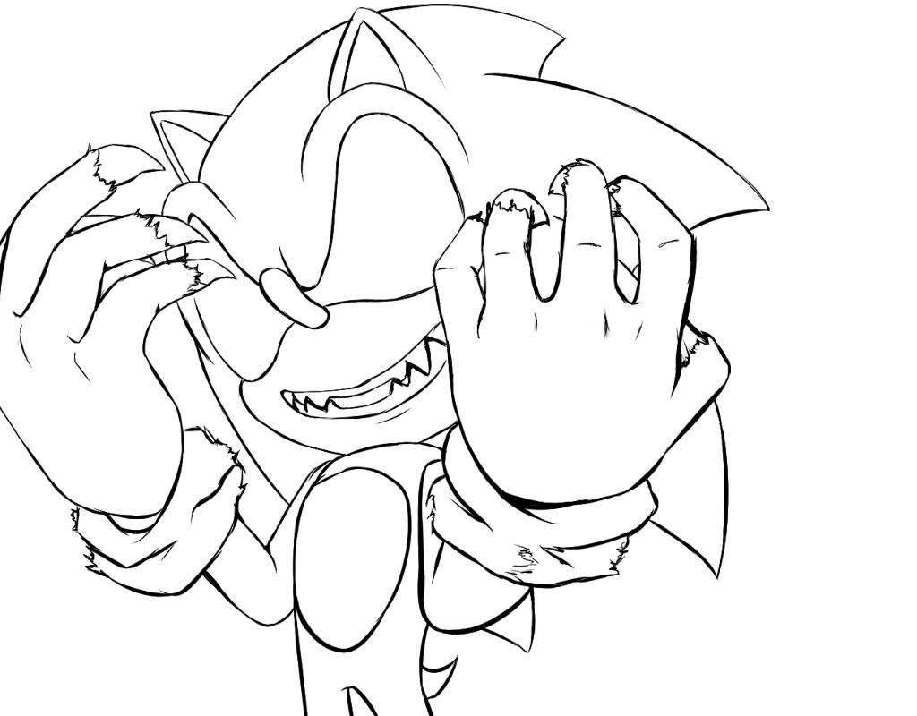 Famoso Páginas Para Colorear Sonic Foto - Dibujos Para Colorear En ...