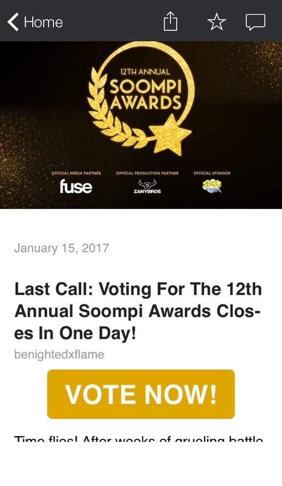 The Soompi Bts Vote {Forum Aden}