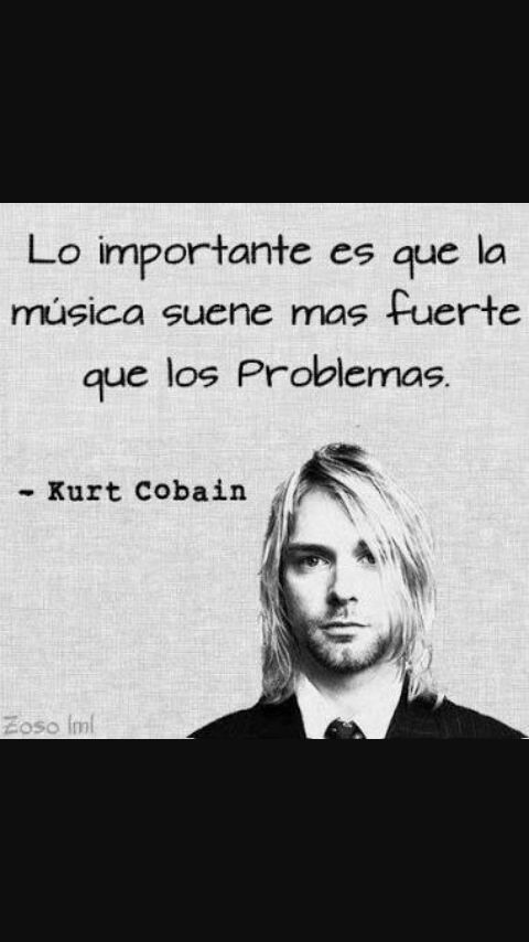 Frases De Kurt Cobain Metal Amino