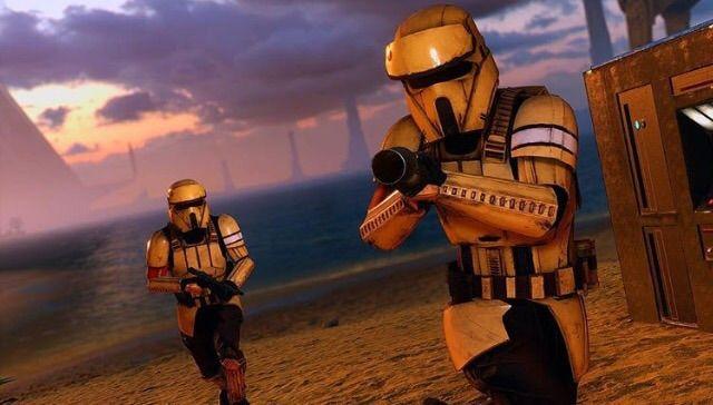 ShoreTrooper Vs Death Trooper