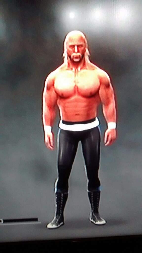 Wwe 2k17 Caws Creations Hulk Hogan Wrestling Games Amino Amino
