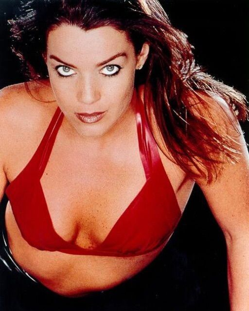 claudia christian as a stripper