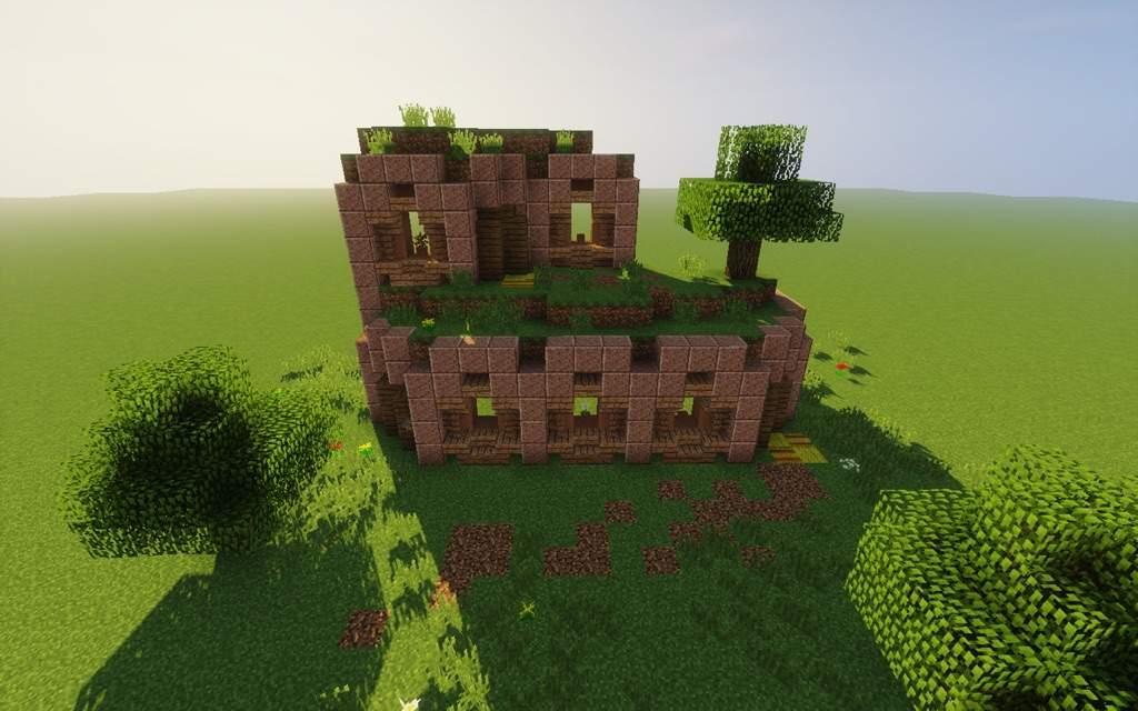Minecraft Building With Granite